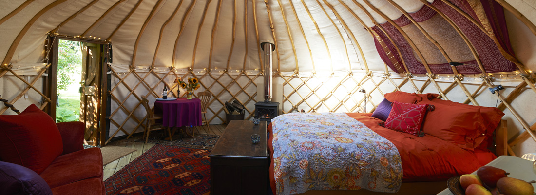 Promotion & incentive ideas - Top 10 glamping getaways