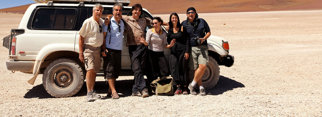 Group incentive travel; 4x4 safari