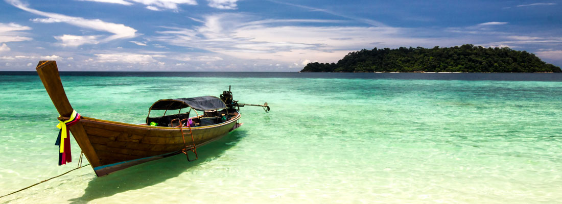 Incentive travel; Thailand long boat