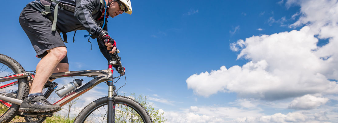 Active experiences; mountain biking