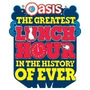 Active's work; Oasis Greatest Lunch Hour