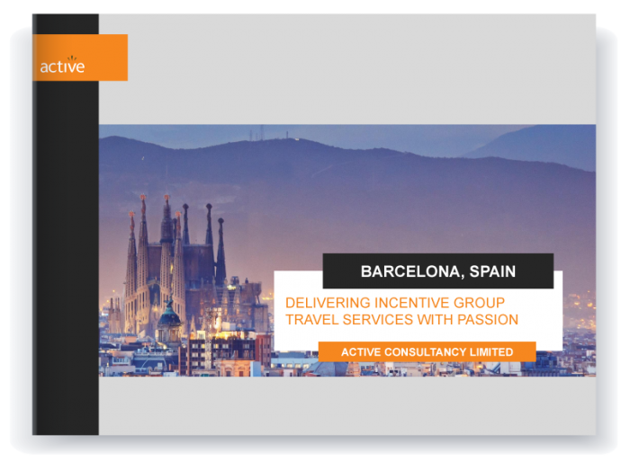 Incentive travel - Barcelona proposal preview