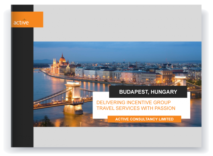 Incentive travel - Budapest proposal preview