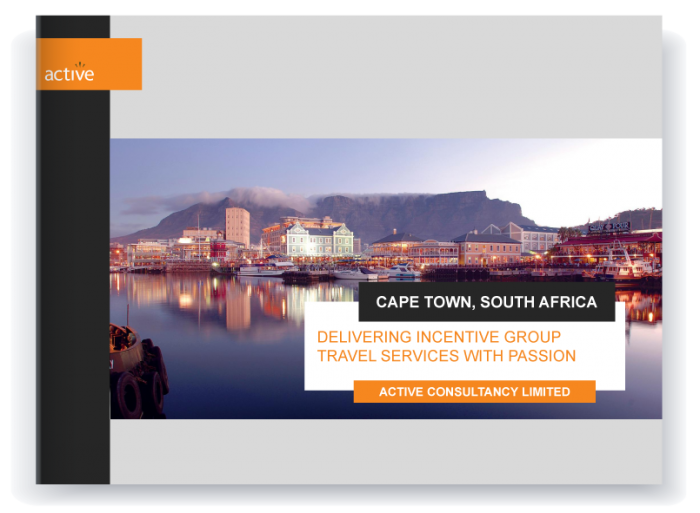 Incentive travel - Cape Town proposal preview