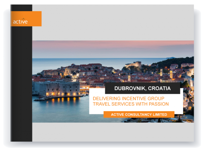 Incentive travel - Dubrovnik proposal preview