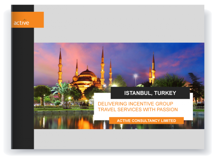 Incentive travel - Istanbul proposal preview