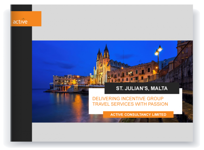 Incentive travel - Malta proposal preview