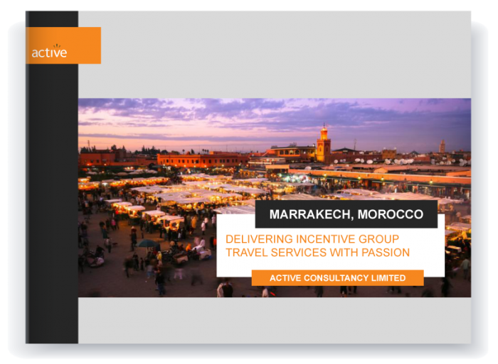 Incentive travel - Marrakech proposal preview