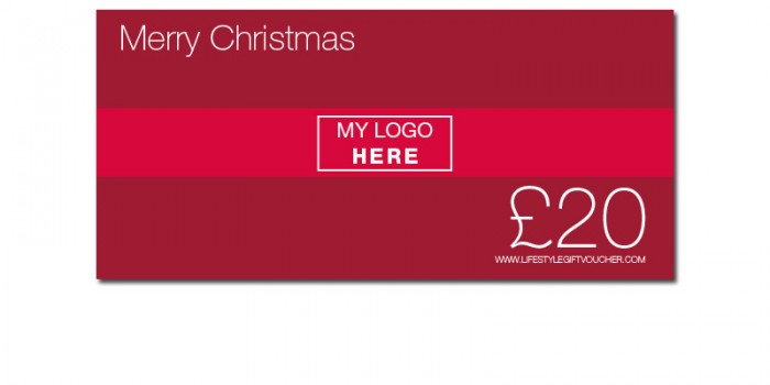 Employee rewards - Christmas branded Lifestyle Gift Voucher