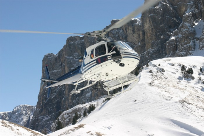 Incentive travel; heli-skiing