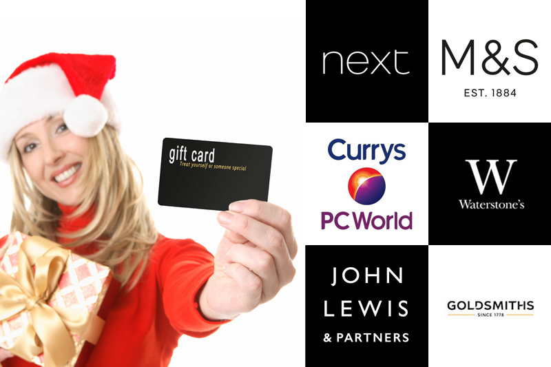 Employee rewards - Christmas gift card